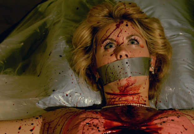 What this movie is actually about: A former Eagles cheerleader and blood.