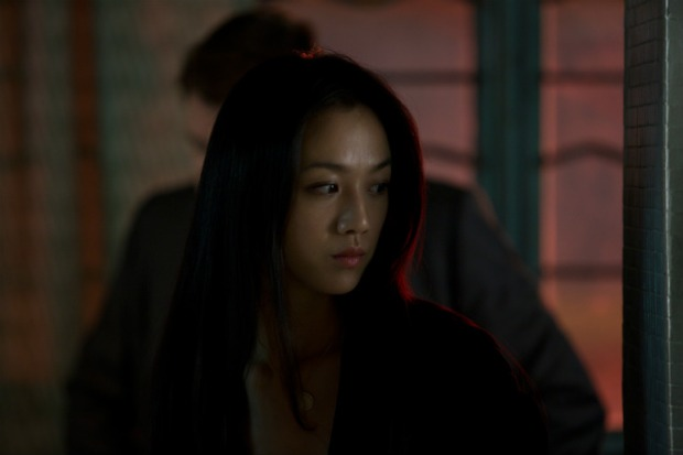Tang Wei reacting to being in this movie.