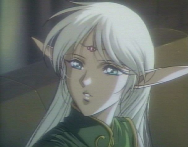 The quintessential anime elf girl.
